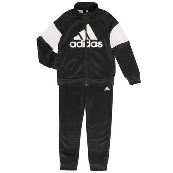 vaatteet Pojat Verryttelypuvut adidas Performance AMAURY Black