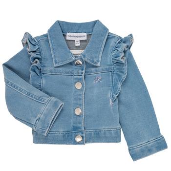 vaatteet Tytöt Takit / Bleiserit Emporio Armani Aldric Blue