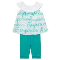 vaatteet Tytöt Kokonaisuus Emporio Armani Alex White / Blue