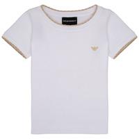 vaatteet Tytöt Lyhythihainen t-paita Emporio Armani Allan White