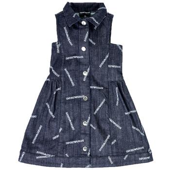 vaatteet Tytöt Lyhyt mekko Emporio Armani  Blue