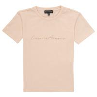 vaatteet Tytöt Lyhythihainen t-paita Emporio Armani Armel Pink