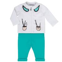 vaatteet Tytöt Kokonaisuus Emporio Armani Aubin White / Blue