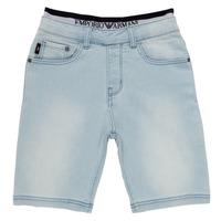 vaatteet Pojat Shortsit / Bermuda-shortsit Emporio Armani Albert Sininen