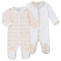 vaatteet Tytöt pyjamat / yöpaidat Emporio Armani Alec Vaaleanpunainen