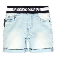 vaatteet Pojat Shortsit / Bermuda-shortsit Emporio Armani Ariel Blue