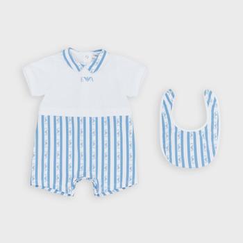 vaatteet Pojat Jumpsuits / Haalarit Emporio Armani Adam Sininen