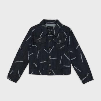 vaatteet Pojat Farkkutakki Emporio Armani Angelo Blue