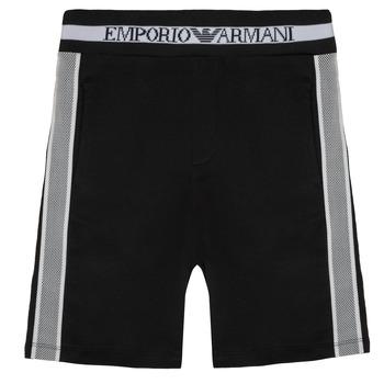 vaatteet Pojat Shortsit / Bermuda-shortsit Emporio Armani Aubert Black