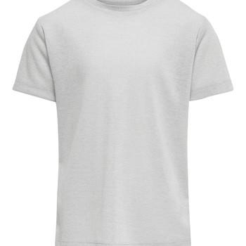 vaatteet Tytöt Lyhythihainen t-paita Only KONSILVERY Hopea