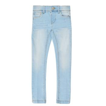 vaatteet Tytöt Slim-farkut Name it NMFPOLLY DNMCILLE Blue
