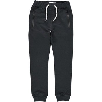 vaatteet Pojat Verryttelyhousut Name it NKMHONK Black