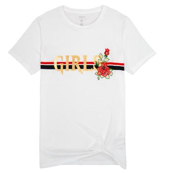 vaatteet Tytöt Lyhythihainen t-paita Name it NKFBARBRA White