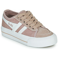 kengät Lapset Matalavartiset tennarit Gola QUOTA II Pink / White