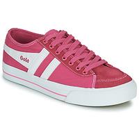 kengät Naiset Matalavartiset tennarit Gola QUOTA II Pink / White