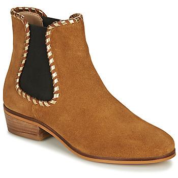 kengät Naiset Nilkkurit André BRETT Camel