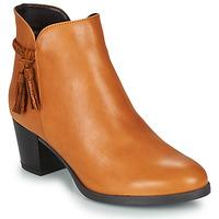 kengät Naiset Bootsit André MARYLOU Camel