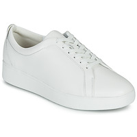kengät Naiset Matalavartiset tennarit FitFlop RALLY SNEAKERS White