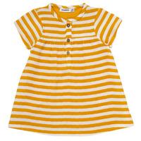 vaatteet Tytöt Lyhyt mekko Noukie's YOUNES Yellow