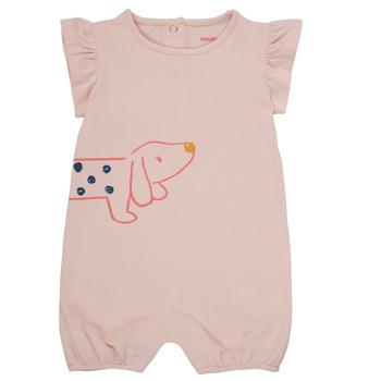 vaatteet Tytöt Jumpsuits / Haalarit Noukie's ISAAC Pink
