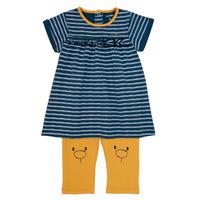vaatteet Tytöt Lyhyt mekko Noukie's AYOUB Blue / Yellow