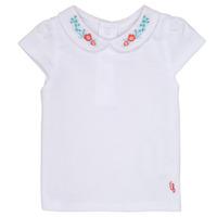 vaatteet Tytöt Lyhythihainen t-paita Carrément Beau MAYVE White