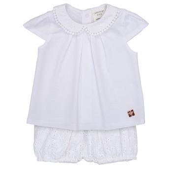 vaatteet Tytöt Kokonaisuus Carrément Beau LORELLI White