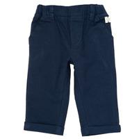 vaatteet Pojat 5-taskuiset housut Carrément Beau ORNANDO Blue