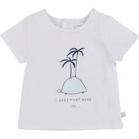 vaatteet Pojat Lyhythihainen t-paita Carrément Beau MARTINEZ White