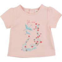 vaatteet Tytöt Lyhythihainen t-paita Carrément Beau JUSTINE Pink