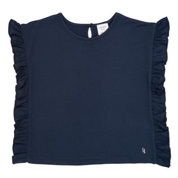 vaatteet Tytöt Lyhythihainen t-paita Carrément Beau KAMILLIA Blue