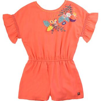 vaatteet Tytöt Jumpsuits / Haalarit Carrément Beau DAVID Pink