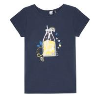 vaatteet Tytöt Lyhythihainen t-paita 3 Pommes LOGAN Blue