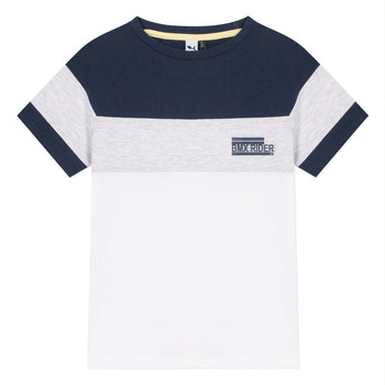 vaatteet Pojat Lyhythihainen t-paita 3 Pommes NORA White