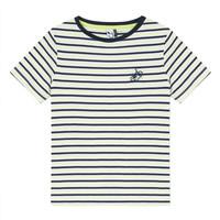 vaatteet Pojat Lyhythihainen t-paita 3 Pommes NORDINE Yellow