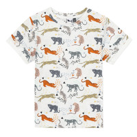 vaatteet Pojat Lyhythihainen t-paita 3 Pommes ARIANE Orange
