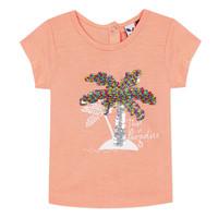 vaatteet Tytöt Lyhythihainen t-paita 3 Pommes EMMA Orange