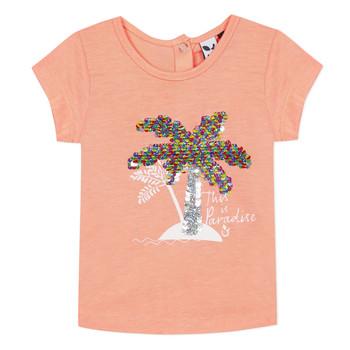 vaatteet Tytöt Lyhythihainen t-paita 3 Pommes EMMA Oranssi