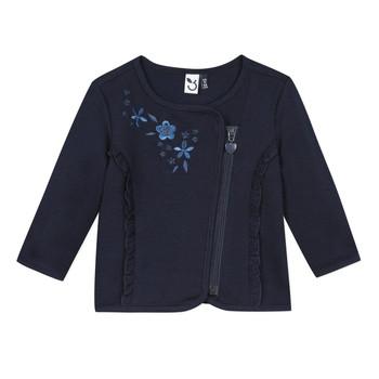 vaatteet Tytöt Neuleet / Villatakit 3 Pommes TEVAI Sininen