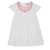 vaatteet Tytöt Lyhyt mekko 3 Pommes LAURA White