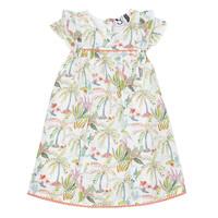 vaatteet Tytöt Lyhyt mekko 3 Pommes SANDRINE White