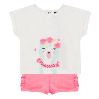vaatteet Tytöt Kokonaisuus 3 Pommes JULIEN Pink