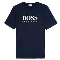 vaatteet Pojat Lyhythihainen t-paita BOSS ELIO Blue