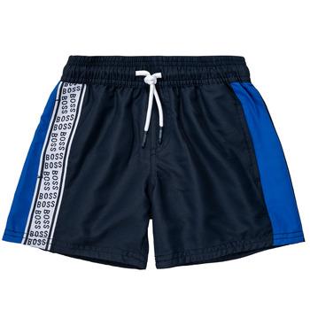 vaatteet Pojat Shortsit / Bermuda-shortsit BOSS MOZEL Sininen