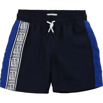 vaatteet Pojat Shortsit / Bermuda-shortsit BOSS MOZEL Blue