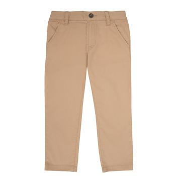 vaatteet Pojat Chino-housut / Porkkanahousut Timberland ANAS Valkoinen