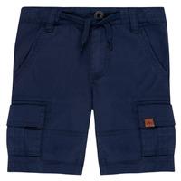 vaatteet Pojat Shortsit / Bermuda-shortsit Timberland LUKA Sininen