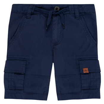 vaatteet Pojat Shortsit / Bermuda-shortsit Timberland LUKA Blue