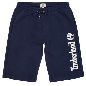 vaatteet Pojat Shortsit / Bermuda-shortsit Timberland OMAR Blue