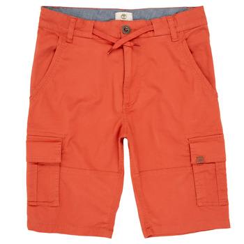 vaatteet Pojat Shortsit / Bermuda-shortsit Timberland STANISLAS Punainen